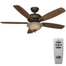 Hampton Bay Home Southwind Remote Controlled 52 inch Venetian Bronze Ceiling Fan