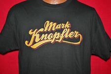 MARK KNOPFLER 2012 North American Concert Tour T-SHIRT Dire Straits ROCK New