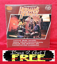 RECORD  LP~ HERMAN'S HERMITS~ MY SENTIMENTAL FRIEND~ FROM THE 1960's  MFP 50008