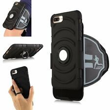 3 in 1 Sports Sweat Proof Case Cover Adjustable Armband Belt For iPhone7/7 Plus