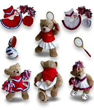 Teddy Bears Clothes fit Build a Bear Teddies Tennis Cheerleader Trainers Outfit