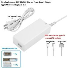 New 45W 85W AC Charger Power Supply Adapter Apple MacBook Pro1& 2 replaceme