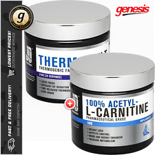 JD Nutraceuticals Thermomelt + 100% Acetyl L-Carnitine - Huge Fat Burning Combo!