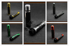 7/8'' CNC Motorcycle Handle Bar Caps+Grips For Ducati 1098/S/Tricolor 2007-2008