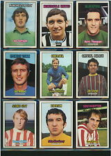A&BC FOOTBALL CARDS 1970 - PICK CARD NUMBERS 101 TO 150 - EXCELLENT CONDITION
