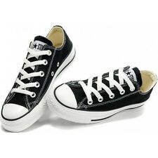 Converse Chuck Taylor OX Low Top Black White Mens Womens Shoes Sizes