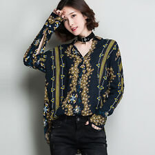 Vintage 70s Women Ethnic Floral Embroidered Boho Irregular Loose Blouse Chic Top