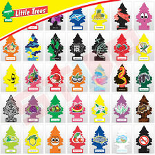 [Pack of 24] NEW Little Trees Hanging Car Air Freshener - Choose from 40 Scents