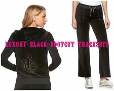 NWT Juicy Couture Tracksuit Velour Embellished Jacket Bootcut Pants Xs S M L XL