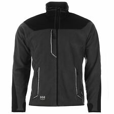 Helly Hansen Barnaby Full Zip Polartec Jacket Mens Dark Grey Jackets Coats