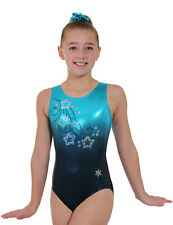 NEW!! Starstruck Gymnastics Leotard by Snowflake Designs - Blue or Orange