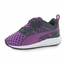 Puma Flare V Trainers Junior Girls Purple Sports Shoes Sneakers Footwear