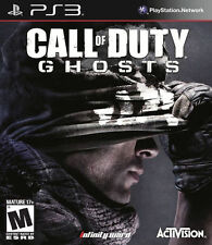 Call of Duty: Ghosts (Sony PlayStation 3, 2013) NEW SEALED