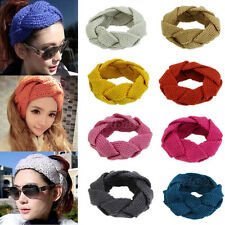 Useful Twist Knitted Crochet Headwrap Headband Winter Ear Warmer Hair Muffs Band