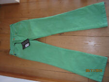 DIESEL 55DSL POIXON APPLE GREEN BOOTCUT STRETCH JEANS 25 BNWT TEEN YOUTH FAB