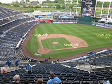 1-2 Cleveland Indians @ Kansas City Royals Tickets Hy-Vee Box 425; Row S 5/6/17