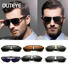Mens Polarized Lens Driving Outdoor Sports Cycling Sunglasses Eyewear Glasses