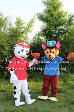 Hot Paw Patrol Air Rescue Spy Chase Fancy Dress Adult Mascot Costume