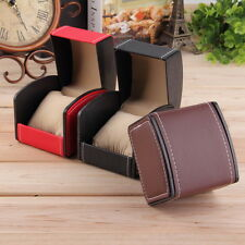 Chic Luxury Watch Box Display Case Gift Box For Watch Jewelry Leather Watch Box#