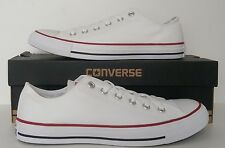 Converse All Star OX Men's Optical White Sizes 6 & 8 UK M7652C