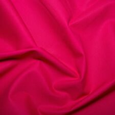 Cerise Pink Plain Solid Fabric 100% Cotton Extra Wide.