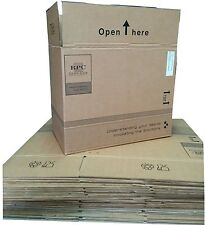 "Large Cardboard Boxes Storage House Moving Removal Posting Packing 19""x11""x15.5"""