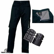 Delta Plus M2PAW Mach2 Warm Lined Cargo Thermal Winter Trousers Pants + Kneepads