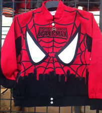 Spiderman Marvel Cotton Twill Toddler & Youth Jacket by RR Designs