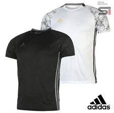 New Mens Genuine Adidas Climacool Football T-Shirt Training Top Size S-XL