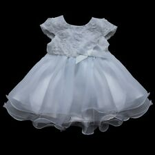 Baby Girl Flower Communion Party Prom Pageant Bridesmaid Dress SZ 0-24 Months