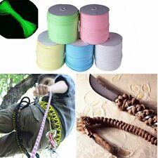 9 Strand 550 Luminous Glow in the Dark Parachute Cord Lanyard 25-100ft Cable