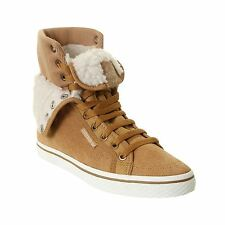 adidas Honey Hi Top Trainers Womens Sand/White Casual Sneakers Shoes Footwear