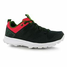 adidas Kanadia 7 Running Shoes Womens Grey/Blk/Red Trainers Sneakers Sports Shoe