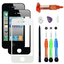 For Apple iPhone 4/4S Front Outer Glass Screen Replacement Lens Tool Kit UV glue