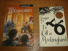Harper Lee TO KILL A MOCKINGBIRD hardback New Windmills 1966 & NOVEL 2010