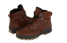 ECCO Men's Track 2 Boots Gore-tex Waterproof Lace Bison New in Box Sz 41-46