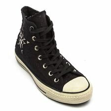 Converse Chuck Taylor Hi Black Womens Trainers