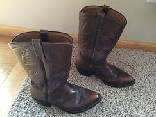 Vintage Red Wing PECOS Men's Style #9801 Western Cowboy Work Boots Size  9.5 3E