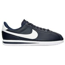 MENS NIKE CORTEZ BASIC LEATHER OBSIDIAN CASUAL SHOES MEN'S SELECT YOUR SIZE