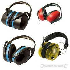 Ear Defenders Muffs folding electronic premium & comfort. Up to 33dB protection