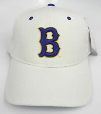"""UCLA BRUINS WHITE """"B"""" NCAA VINTAGE FITTED SIZED ZEPHYR DH CAP HAT NWT!"""