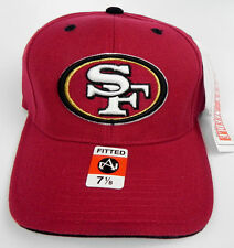 SAN FRANCISCO 49ERS NFL VTG FITTED SIZED AMERICAN NEEDLE CAP HAT NEW! DEADSTOCK