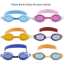 Cartoon Children Kid Swimming Goggles Boys Girls Anti-Fog Swim Eyewear Goggle OP
