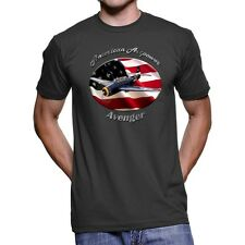 Grumman Avenger American Airpower Men`s Dark T-Shirt