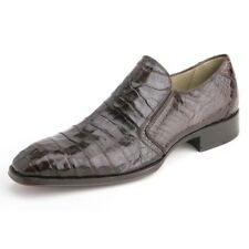 Fiorello By Mezlan In Dark Brown Slip-On Genuine Crocodile Skin