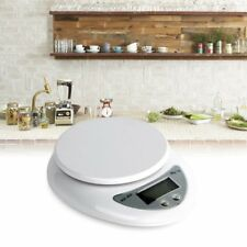 Compact Digital Kitchen Scale Diet Food 5KG 11LBS x 1g  Electronic Weight #V6