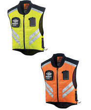 Icon Mens Mil-Spec Mesh Reflective Street Motorcycle Vest All Sizes