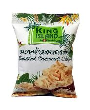 King Island-Roasted Coconut Chips-Original-Chocolate-Caramel-Coffee-Thailand