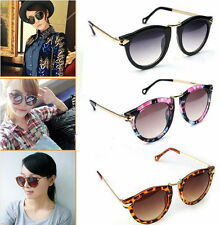 Women's Unisex Sunglasses Arrow Style Eyewear Round Sunglasses Metal Frame DP