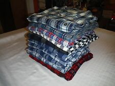 Big &Tall Men's Flannel Shirts Mix Brands Croft& Barrow,Sonoma,Chaps Multi Plaid